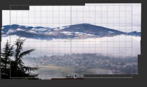 Panorama reconstitué